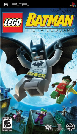 Скачать игру LEGO Batman: The Videogame на psp бесплатно